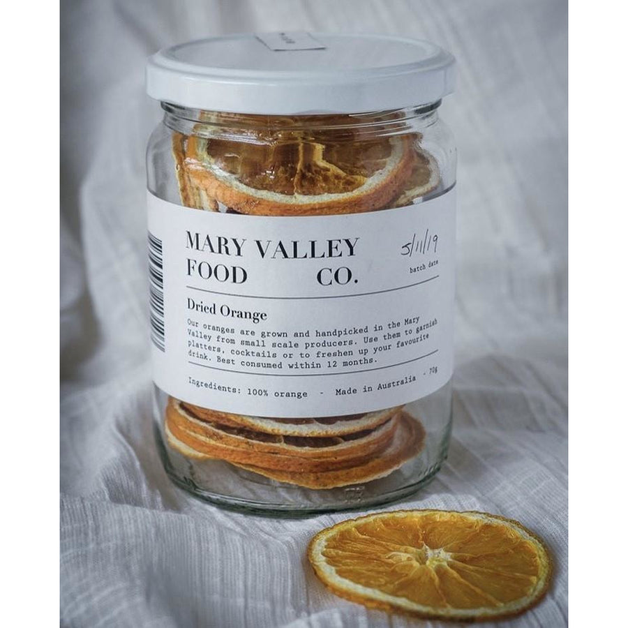 Mary Valley Dehydrated Orange 70g