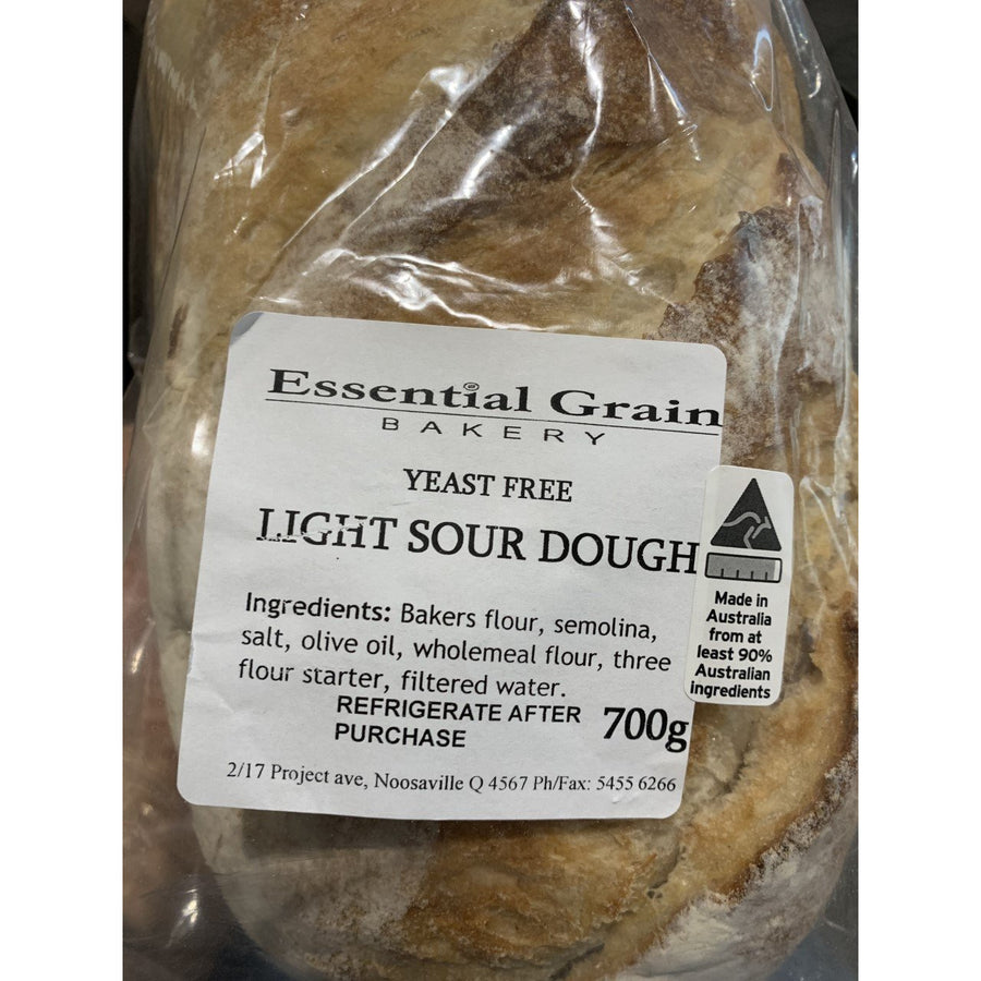 Essential Grain Organic Light Sourdough 700g