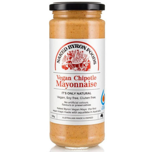 Naked Byron Vegan Chipotle Mayonnaise 435g