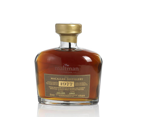 Macallan 35 years old, bottled by Maltman at 44.5%