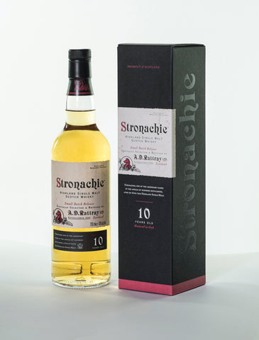 Stronachie 10 year old, Benrinnes Speyside Single Malt Scotch Whisky in Hong Kong