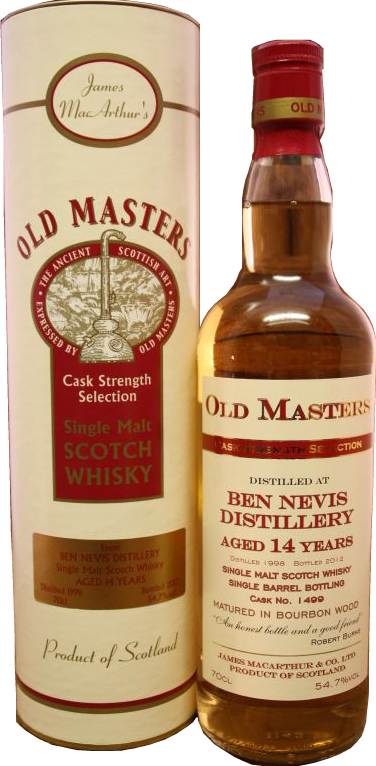Ben Nevis 14, Cask Strength Speyside Single Malt Scotch Whisky in Hong Kong