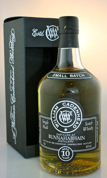 BUNNAHABHAIN 10 year old, 46% Islay single malt scotch whisky in Hong Kong by Cadenhead