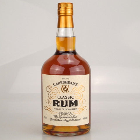 Classic Rum, a blend of Caribbean Dark Rums, bottled at 46%