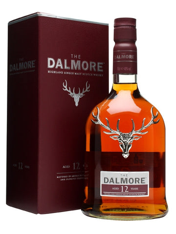 Dalmore 12 year old Highland Single Malt Scotch Whisky in Hong Kong