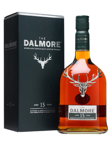 Dalmore 15 year old Highland Single Malt Scotch Whisky in Hong Kong