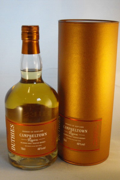 CAMPBELTOWN Blended Malt, 46% Blended Malt Scotch Whisky from Cadenhead's Duthies Regional range