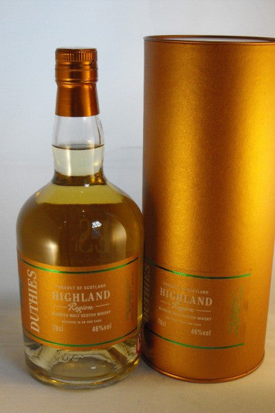 DUTHIES HIGHLAND REGION Blended Malt, 46%