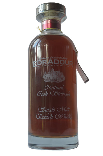 Edradour, a Highland Cask Strength Single Malt Scotch Whisky in Hong Kong distilled in 2000, bottled in 2012 at 57.4%