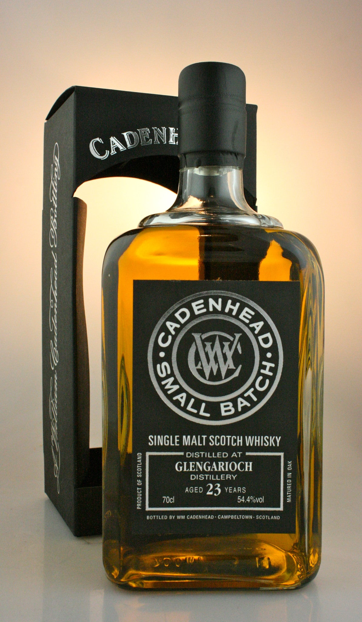 GLEN GARIOCH 23  yo, 54.4% Highland Single Malt Scotch Whisky in Hong Kong by Cadenhead