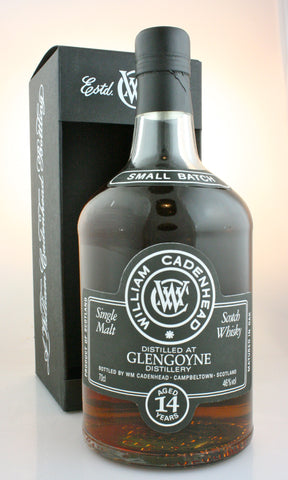 GLENGOYNE 14 year old, 46% Highland Single Malt Scotch Whisky in Hong Kong by Cadenhead