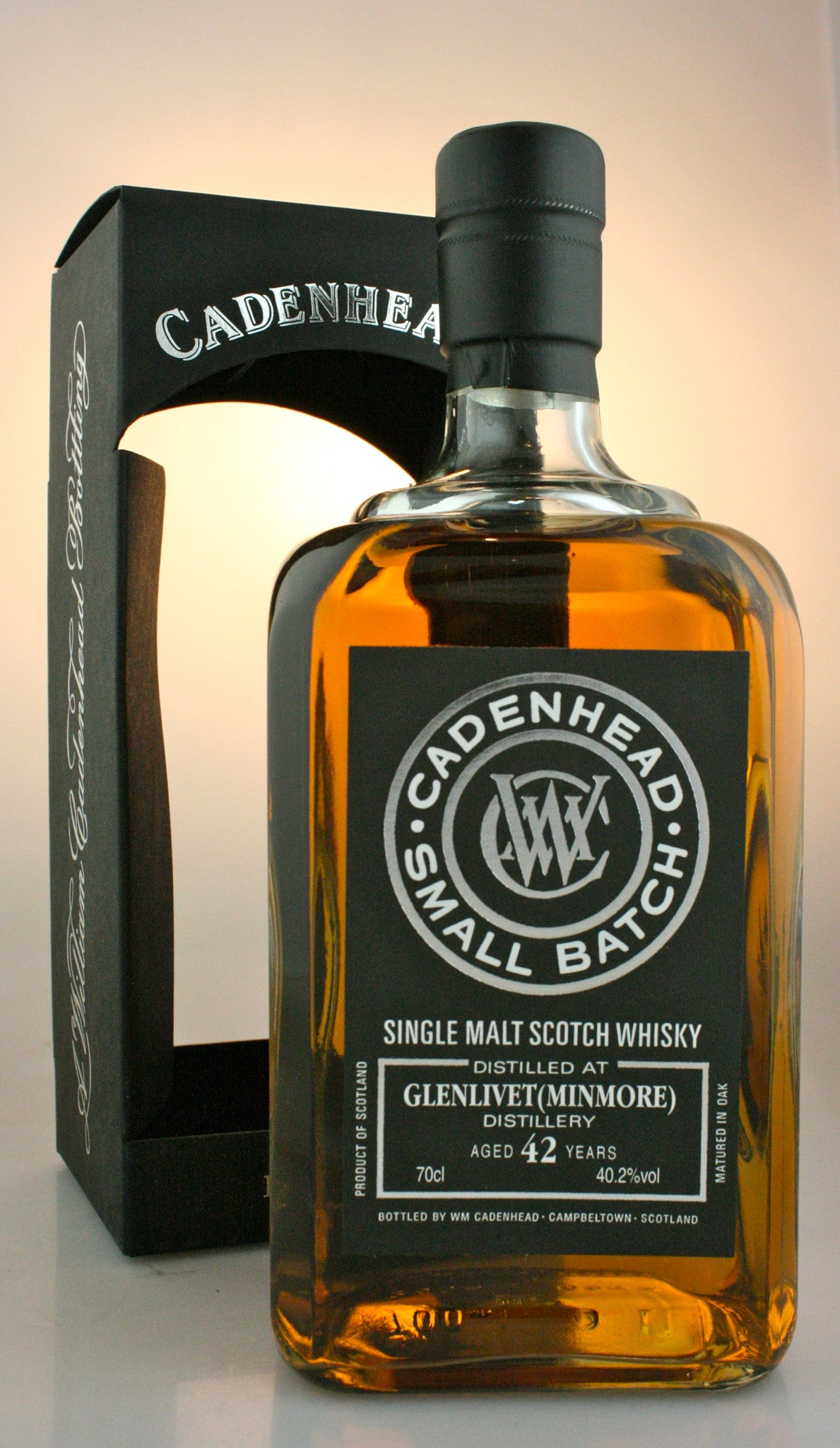 GLENLIVET 42yo, 40.4% single malt from Speyside Scotland in Hong Kong by Cadenhead