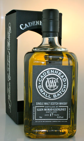 GLEN MORAY 17yo, 55.8% single malt from Speyside Scotland in Hong Kong by Cadenhead