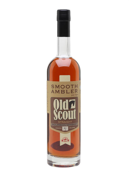 SMOOTH AMBLER OLD SCOUT STRAIGHT BOURBON 7 year old, 49.5%