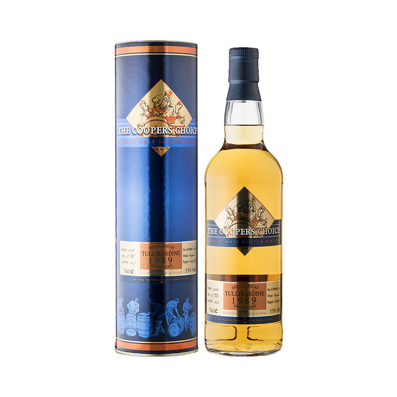 Tullibardine 25 year old, Highland Cask Strength Single Malt Sotch Whisky in Hong Kong.