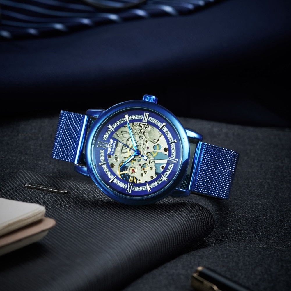 Casual Men Mechanical Watch