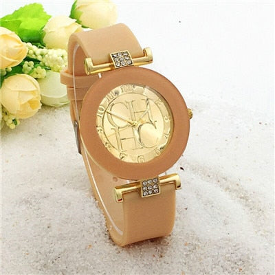 Simple leather Wrist Watch