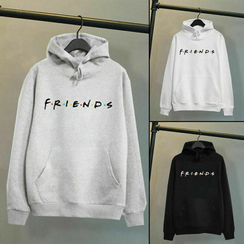 Women Friends Print Hoodies