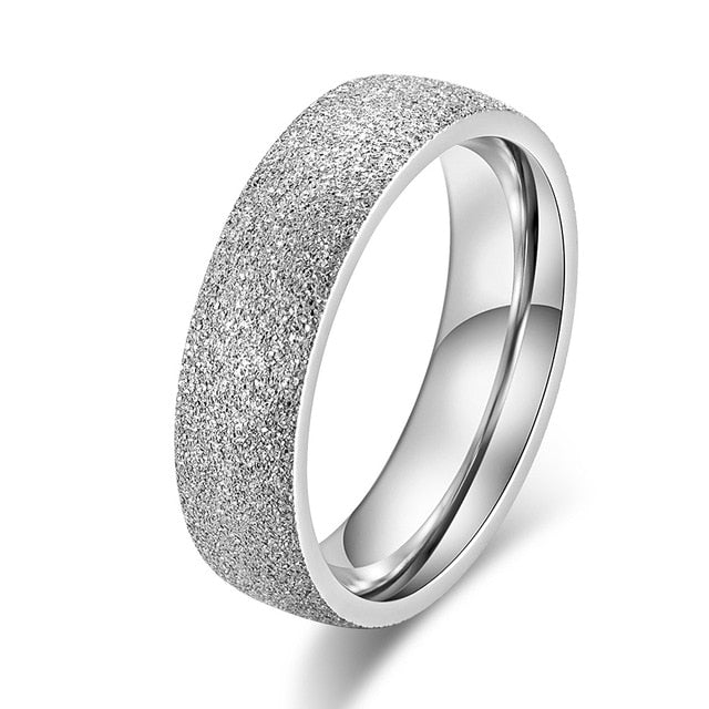 Stainless Steel Women 's Rings