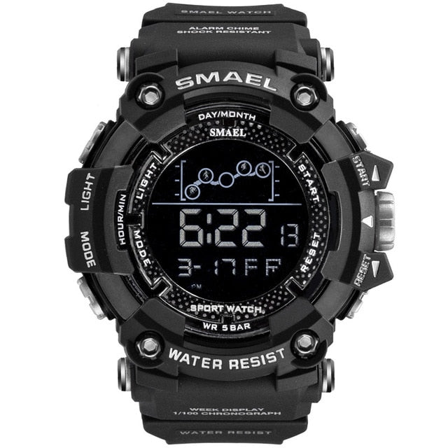 Men's led digital watch