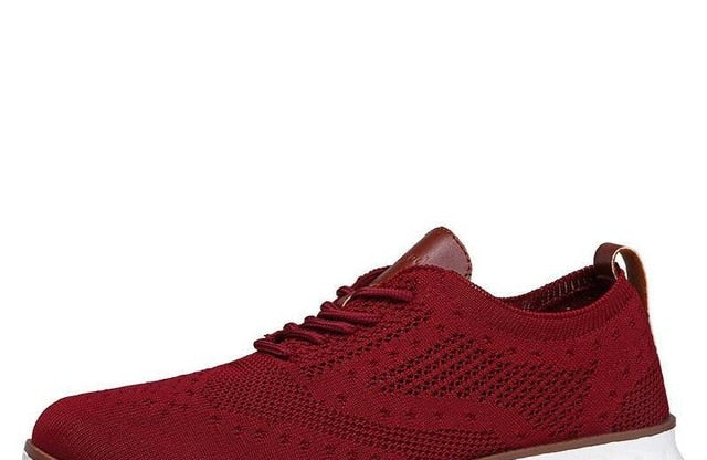 Casual Knitted Men's Shoes