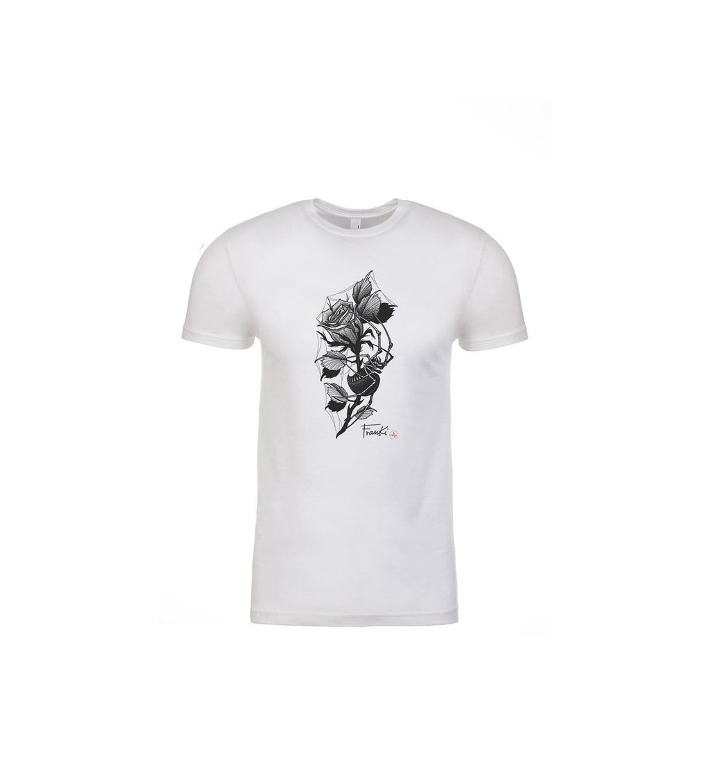 Franki Tattoo - Spider in the Rose - T-Shirt