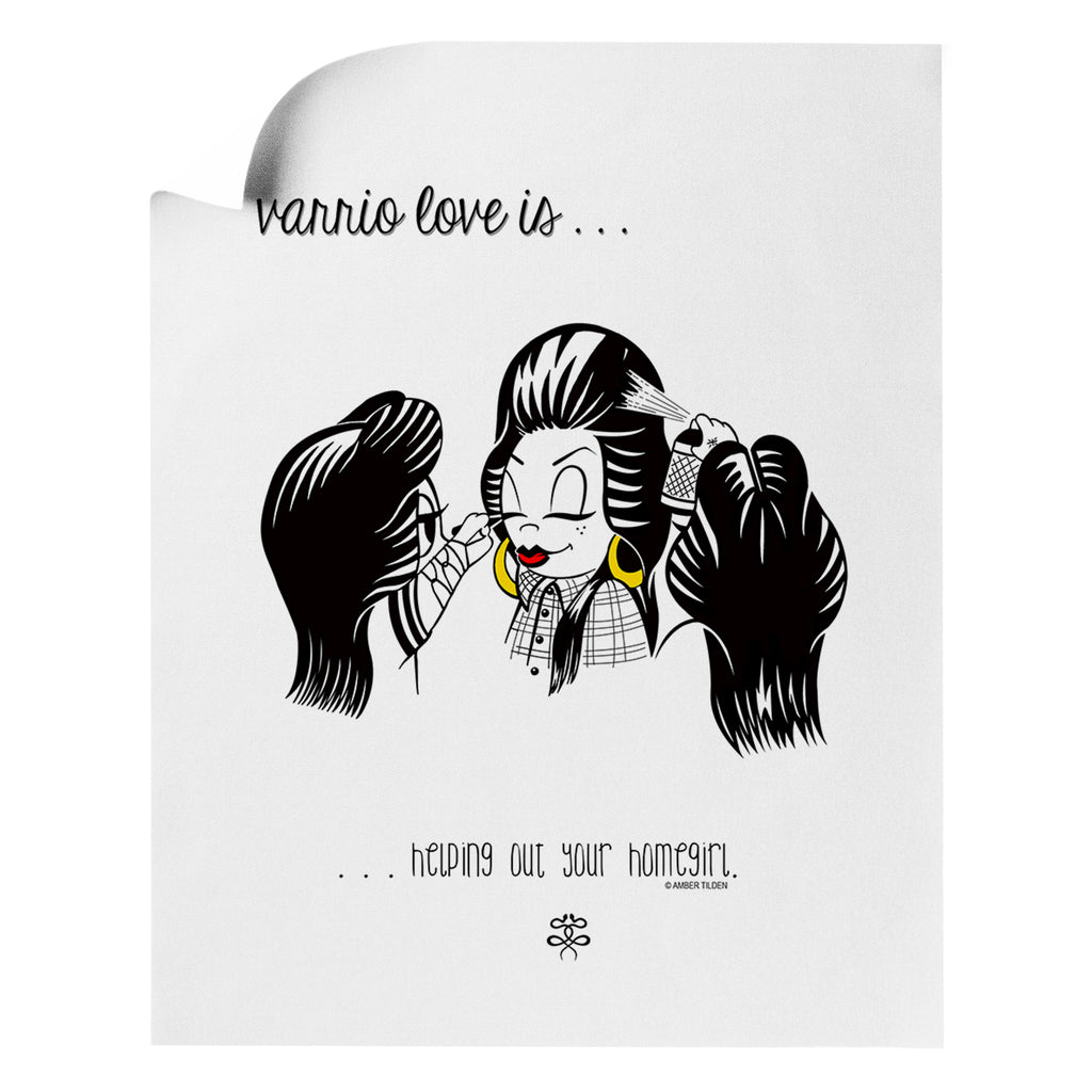 Amber Tilden - Homegirls - Art Print