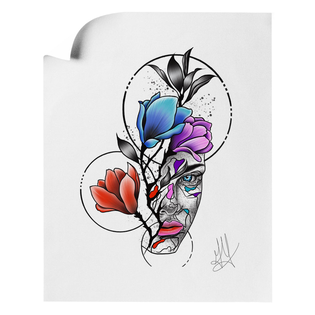 Gady Tattoo - HER - Art Print