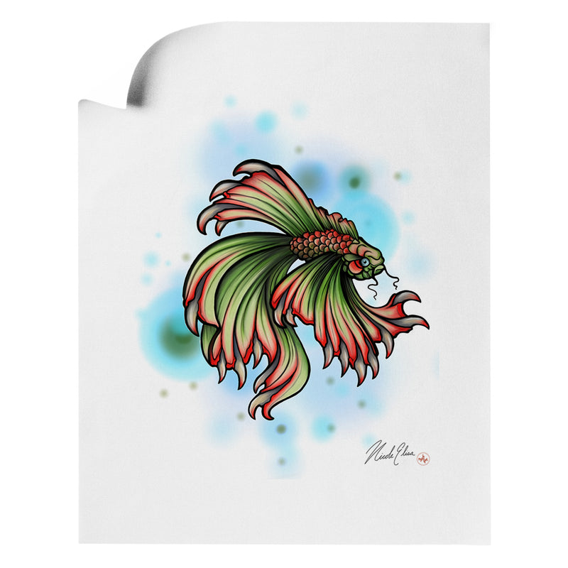 Nicole Elisa - Tooth Fish - Art Print