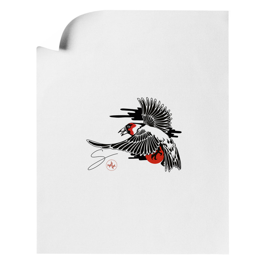 Seth Alexander - Male Finch - Art Print
