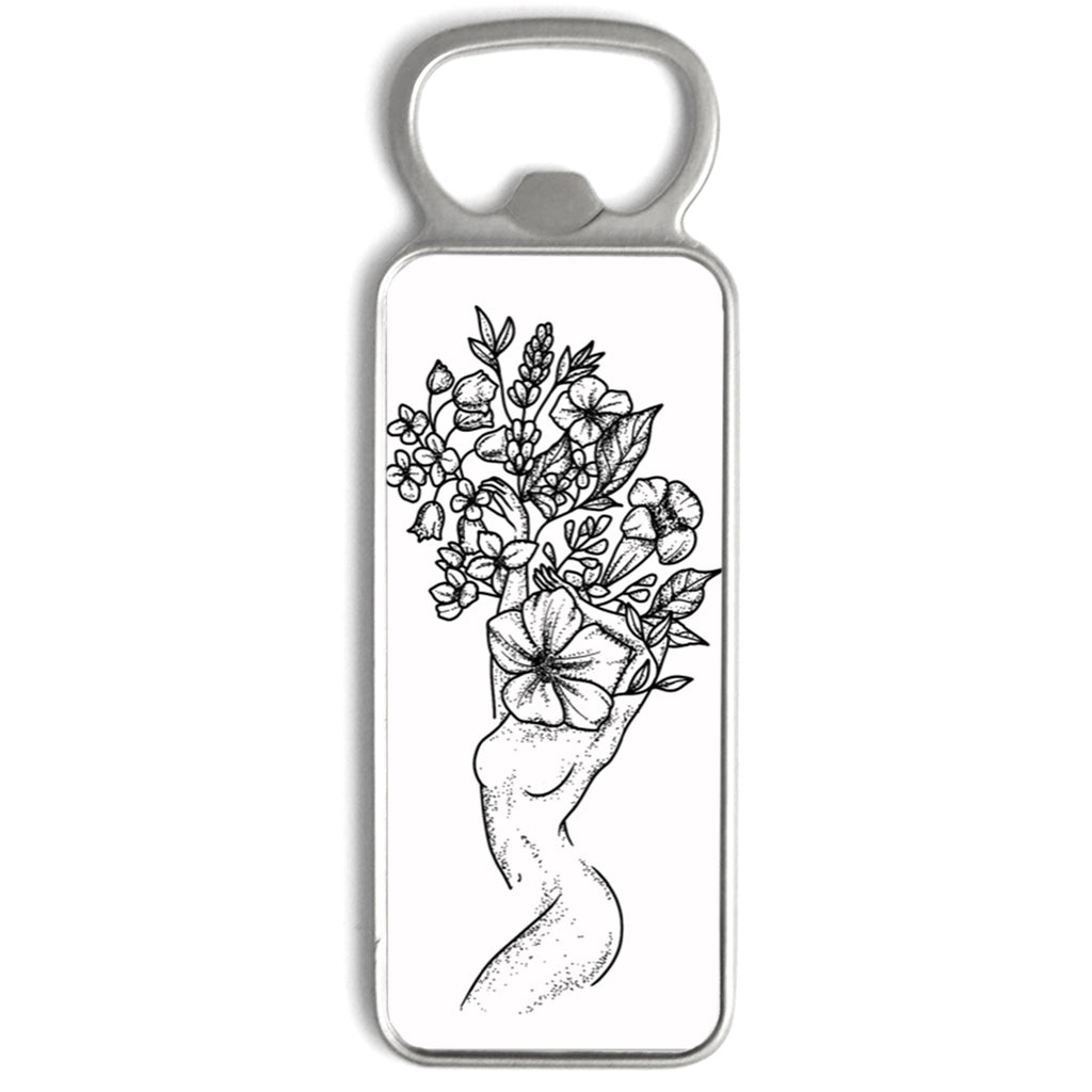 Andrea Din Don - Floral Woman - Bottle Opener