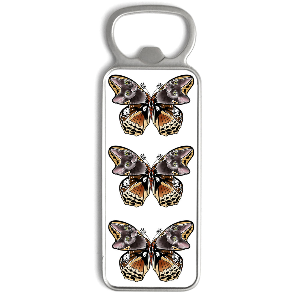 Naysla Droguett - Cat Moth - Bottle Opener