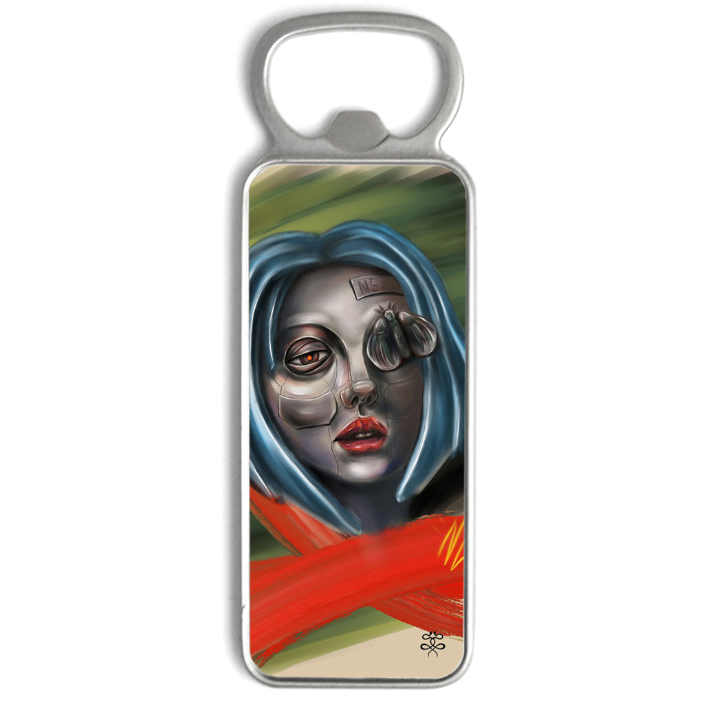 Newschoolenko Max - Iron Girl - Bottle Opener