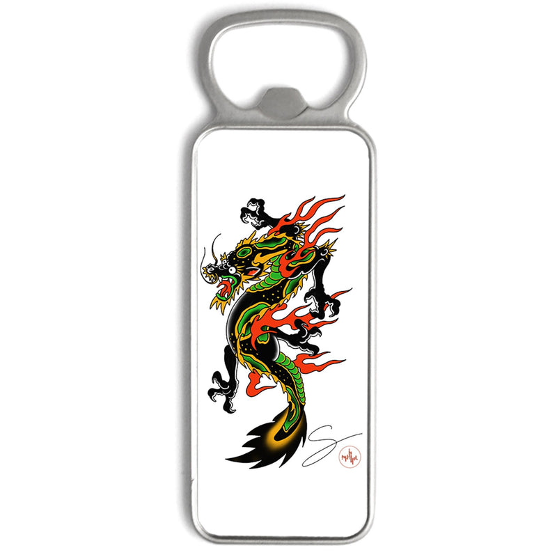 Seth Alexander - Americana Dragon Full - Bottle Opener