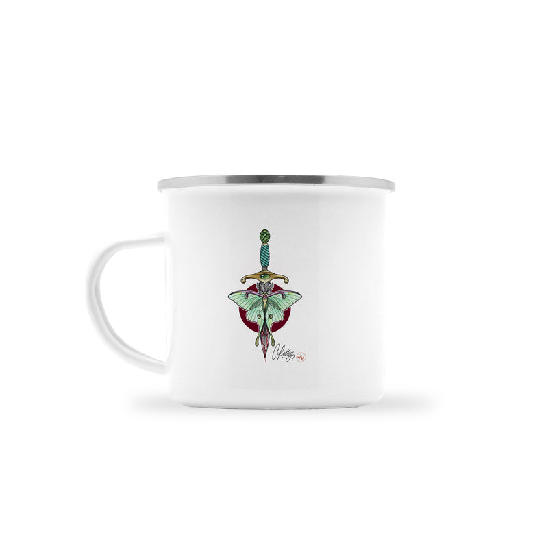 Caleb Ledley - Burdened - Camp Mug