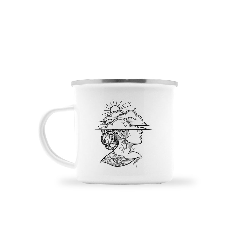 Molly Vee - Lady Of The Giants Causeway - Camp Mug