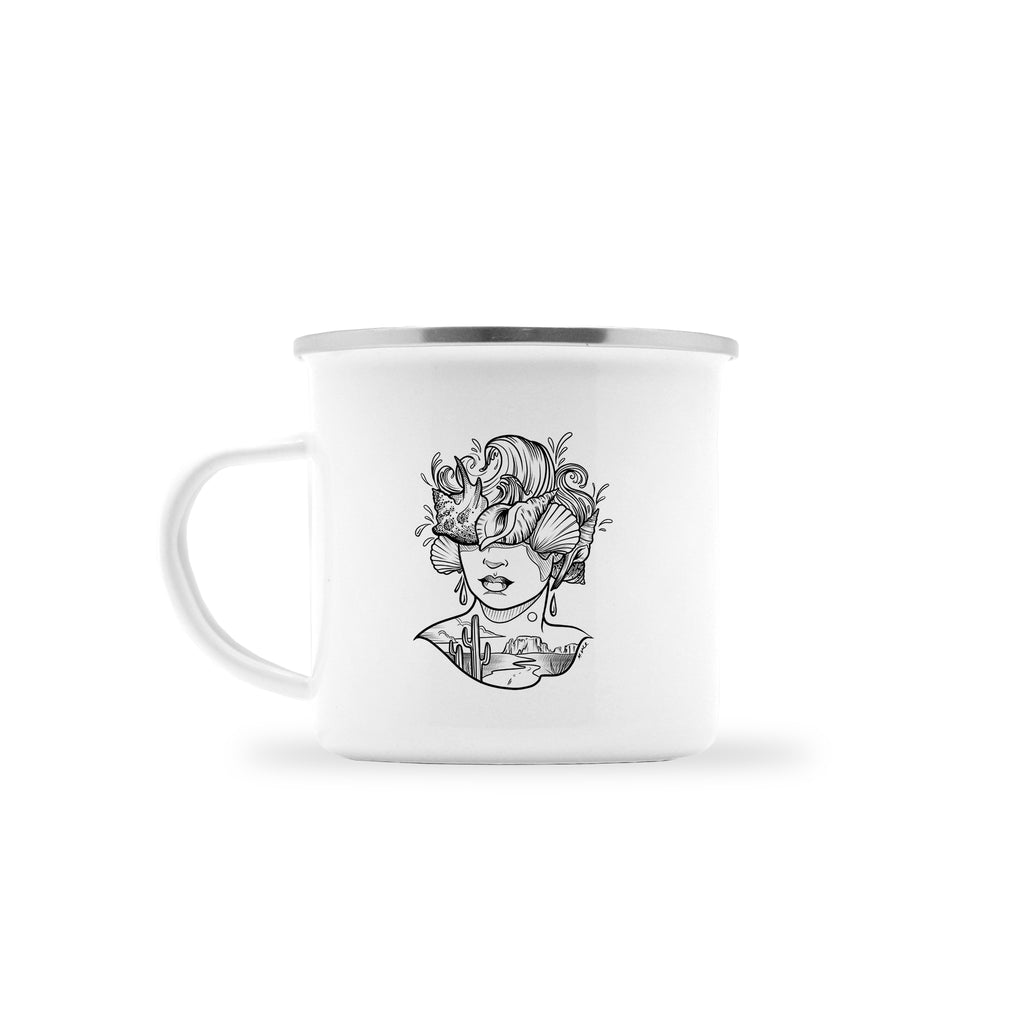 Molly Vee - From The Desert To The Shore - Camp Mug