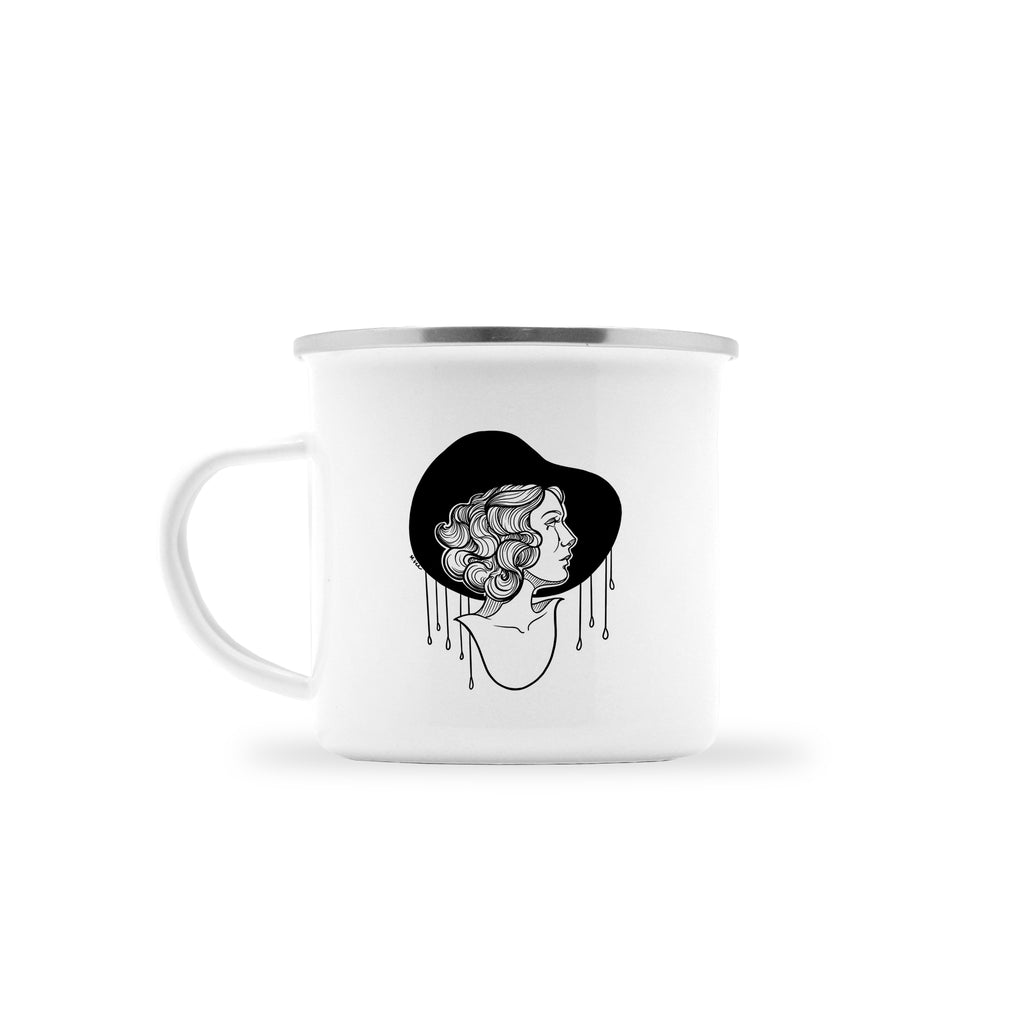 Molly Vee - Crying In The Rain - Camp Mug