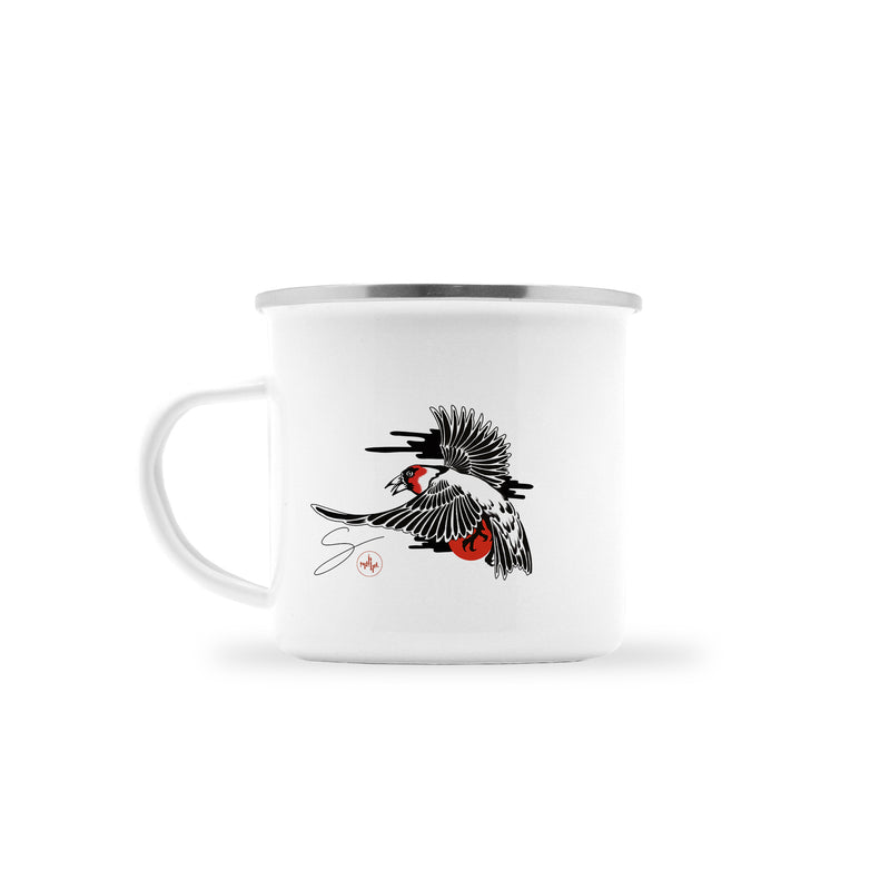 Seth Alexander - Male Finch - Camp Mug