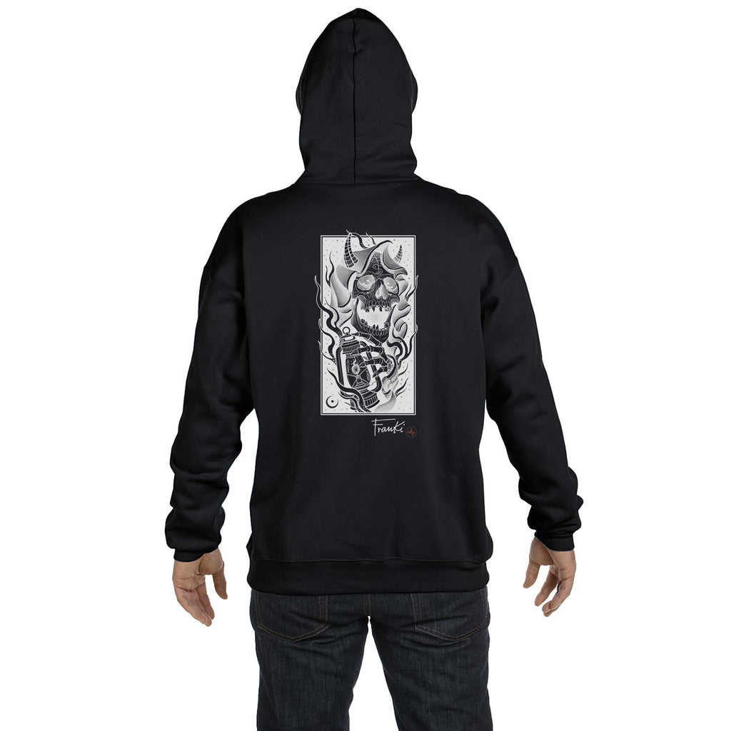 Franki Tattoo - The Light of the Grim Reaper- Hoodie