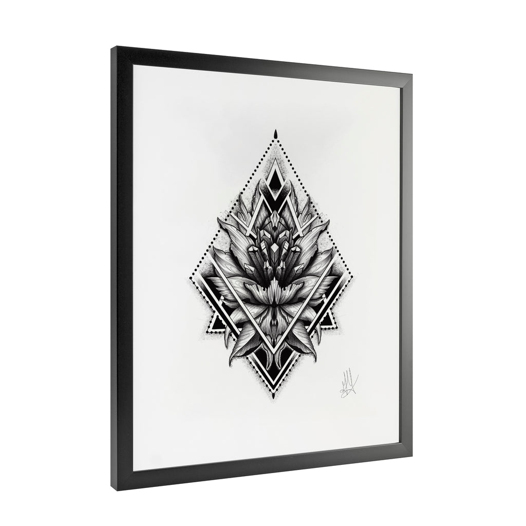 Gady Tattoo - Trilogy - Framed Art