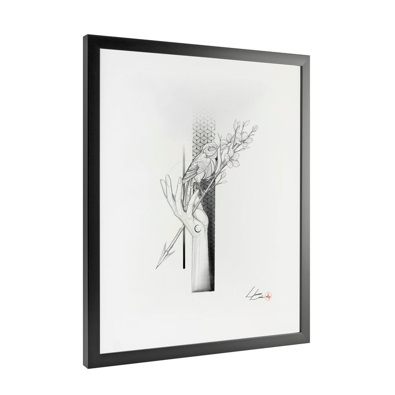 Lucas Lua - Freedom- Framed Art