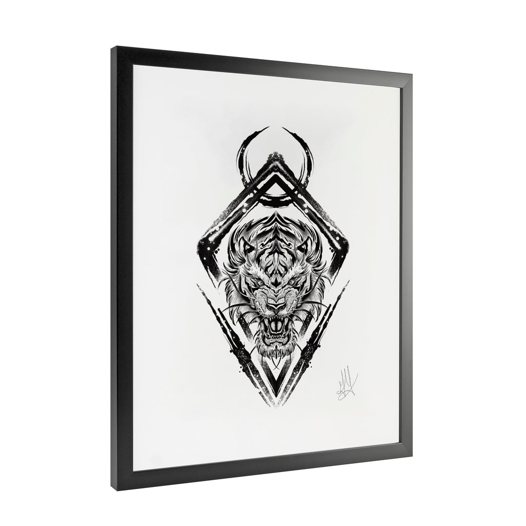 Gady Tattoo - Destination - Framed Art