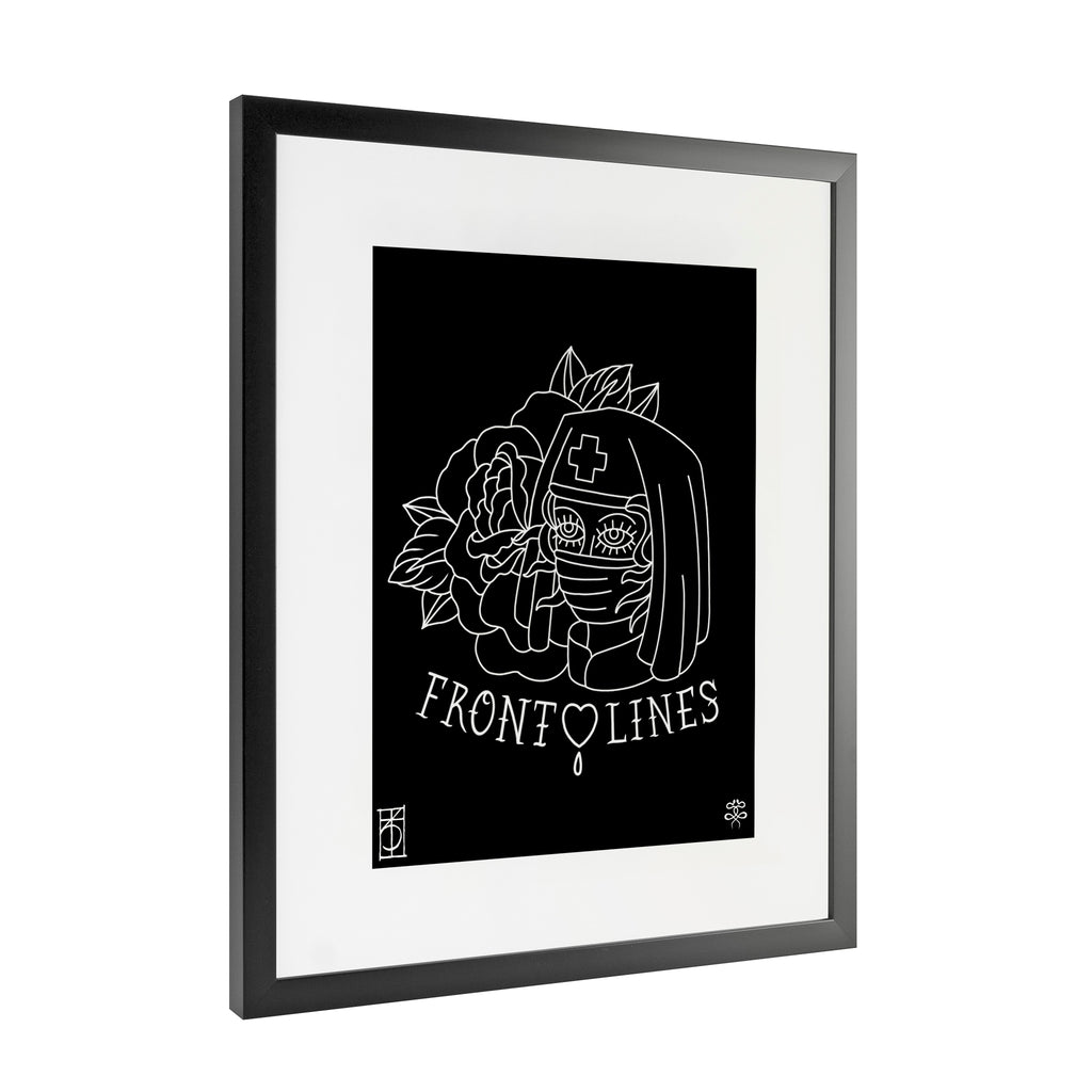 Keith Kiernan - Front Lines - Framed Art