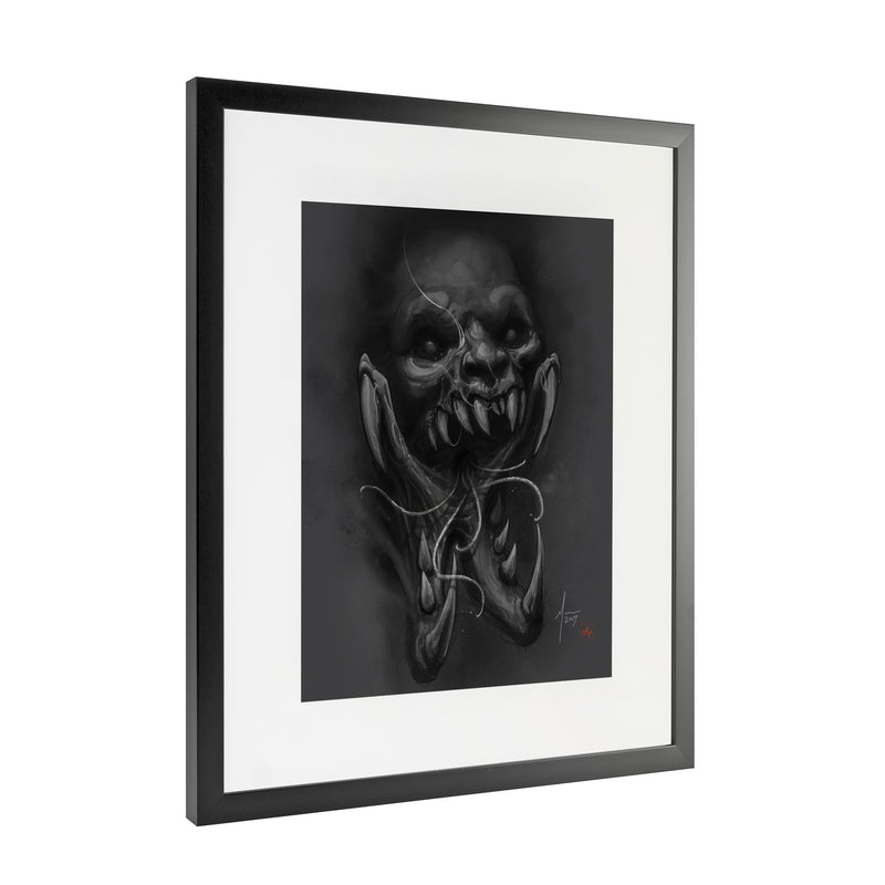 Nathan Marti - Insectoid - Framed Art