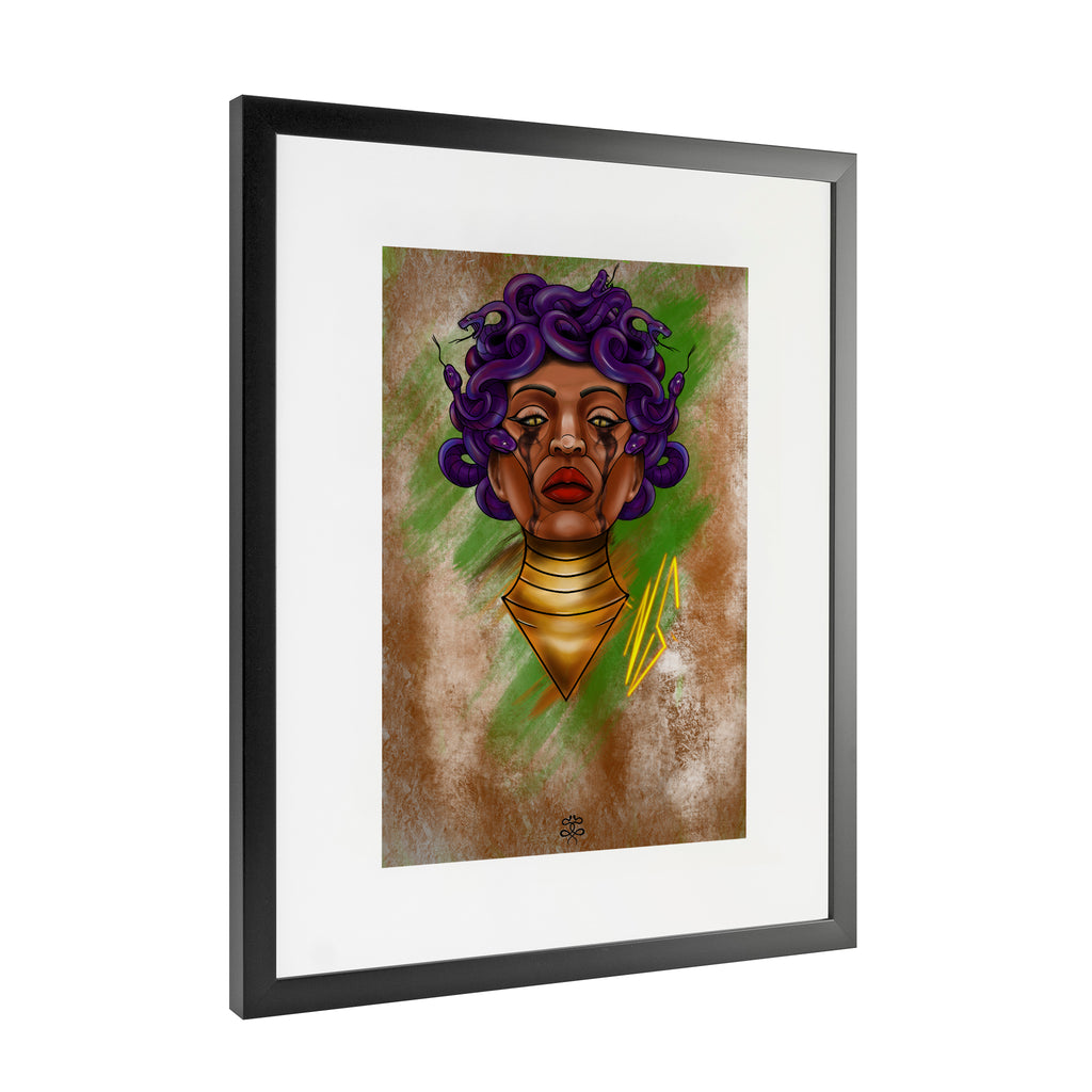 Newschoolenko Max - Fatal Queen - Framed Art