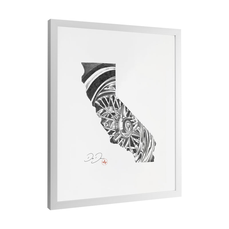 Dago Dane - Cali Life - Framed Art