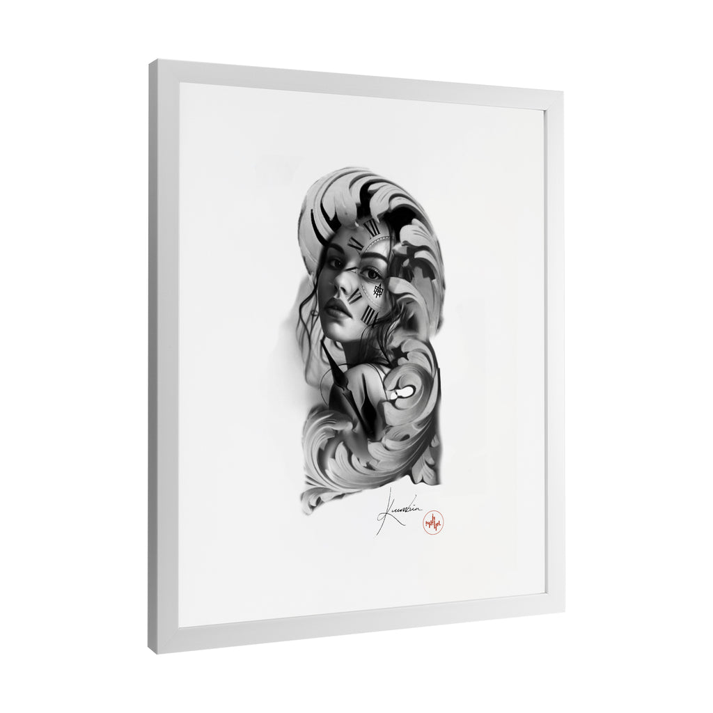 Kumbia - Timeless Woman - Framed Art