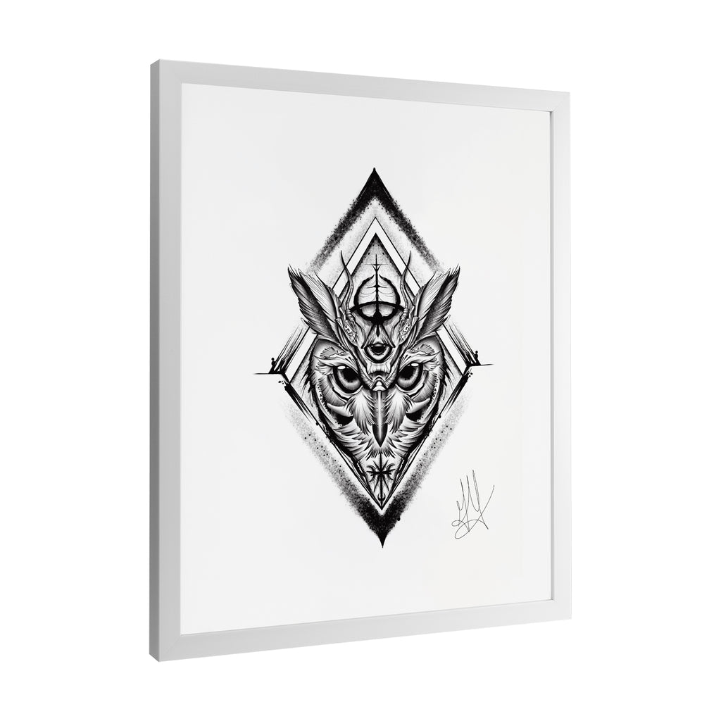 Gady Tattoo - Knowledge - Framed Art