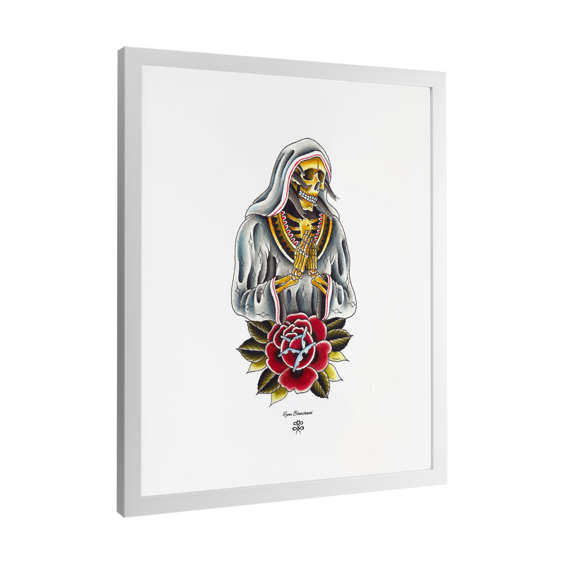 Ryan Blanchard - Lady Death - Framed Art